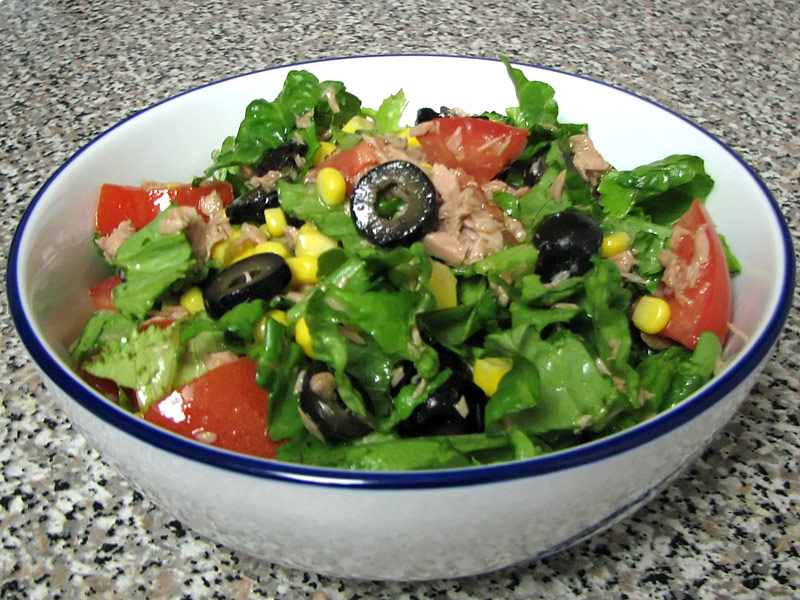 Green Tuna Salad Recipe | My Homemade Food Recipes & Tips ...