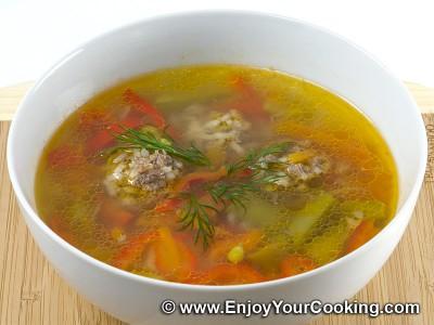 Meatballs Soup is Ready