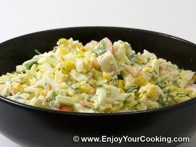 Crab Sticks & Rice Salad