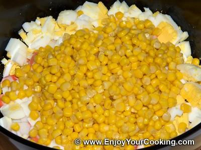 Crab Sticks & Rice Salad Recipe: Step 4