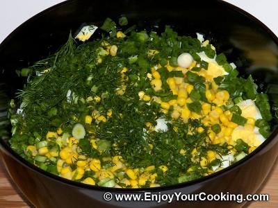 Crab Sticks & Rice Salad Recipe: Step 5