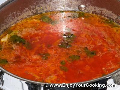Borscht (Beetroot Soup) Recipe: Step 13