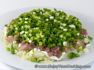 Herring Under Fur Coat (Herring Salad) Recipe: Step 5