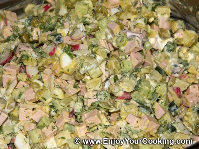 Okroshka Recipe: Step 10