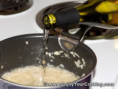 Wine, Butter and Capers Sauce for Fish Recipe: Step 5