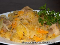 Bigos (Cabbage and Pork Stew)