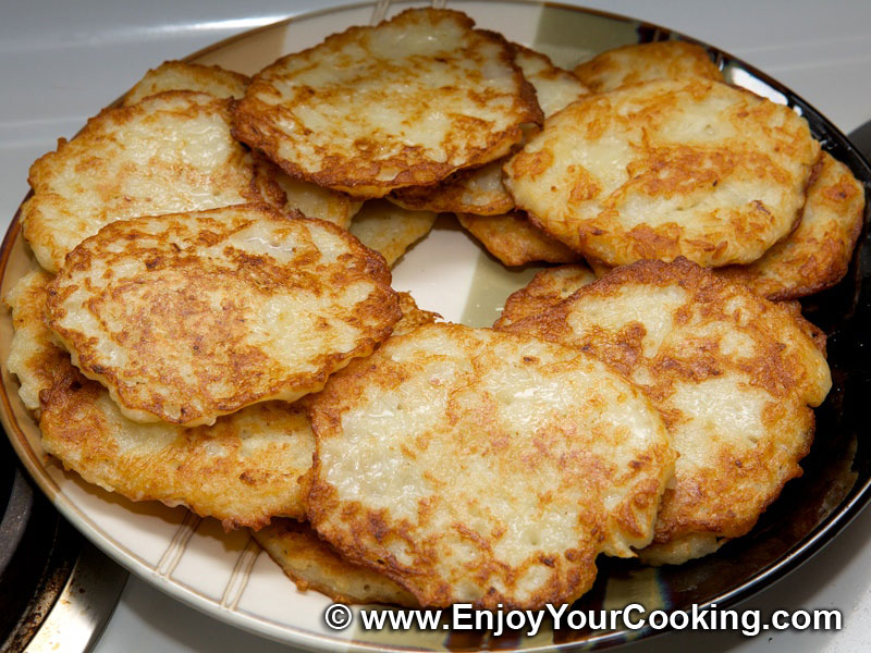 Polish Potato Pancakes Recipe Deruny (potato pancakes)