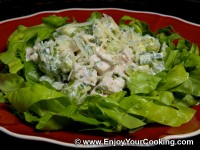 Chicken Salad with Celery and Grapes
