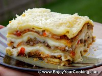 Lasagna with Beef and Vegetables