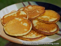 Russian Kefir Pancakes (Oladi)