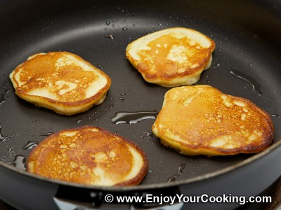 Russian Pancakes (Oladi) with Apple Recipe: Step 10