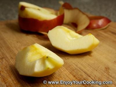 Russian Pancakes (Oladi) with Apple Recipe: Step 7