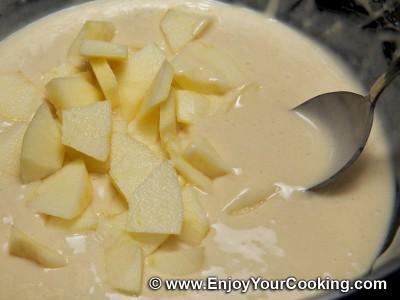 Russian Pancakes (Oladi) with Apple Recipe: Step 8