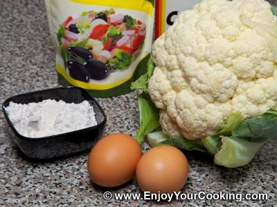 Cauliflower Pancakes Recipe: Step 1