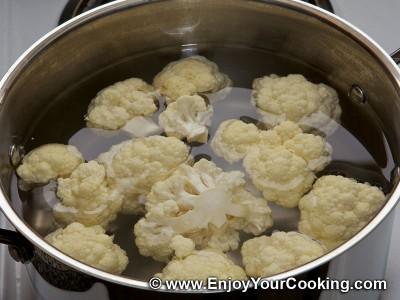 Cauliflower Pancakes Recipe: Step 2