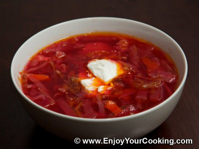 Easier Borscht with Precooked Beets and Beans Recipe: Step 19