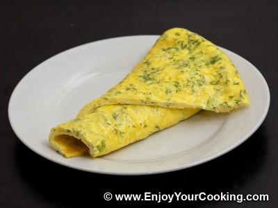 Omelette with Sour Cream and Cheese Recipe: Step 8