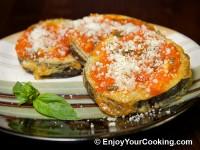 Eggplants with Tomato Basil Sauce and Parmesan