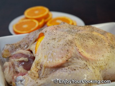 Whole Chicken Roast with Oranges Recipe: Step 5