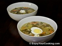 Sorrel and Pork Soup (Green Borscht)