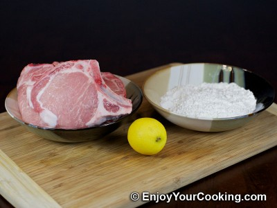 Fried Pork Chops Recipe: Step 1