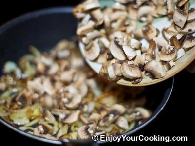 Beef Stroganoff with Mushrooms and Cream Recipe: Step 3