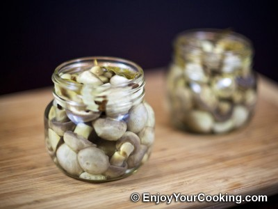 Homemade Pickled Mushrooms Recipe: Step 10
