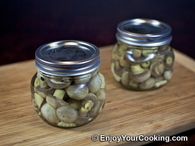 Homemade Pickled Mushrooms Recipe: Step 11