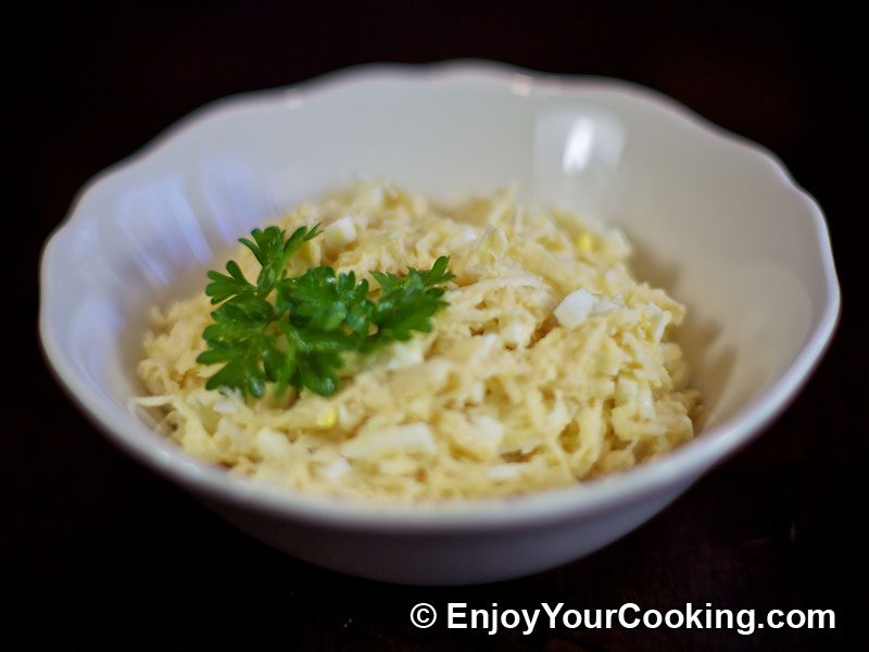 Celery Root Salad with Apples and Eggs Recipe   My Homemade Food ...
