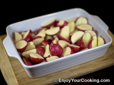 Oven-Roasted Herbed Redskin Potatoes Recipe: Step 2