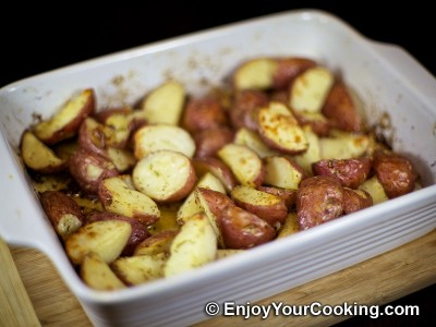 Oven-Roasted Herbed Redskin Potatoes Recipe: Step 7