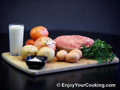 Ground Beef and Potato Casserole Recipe: Step 1