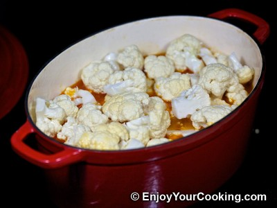 Chicken Stew with Cauliflower and Tomatoes Recipe: Step 12
