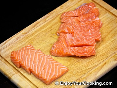 Fried Battered Salmon Recipe: Step 2