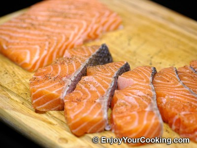 Fried Battered Salmon Recipe: Step 3