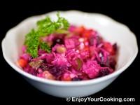 Russian Vinaigrette Salad (Salad Vinegret)