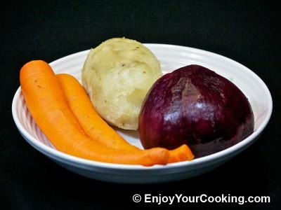 Russian Vinaigrette Salad (Salad Vinegret) Recipe: Step 2