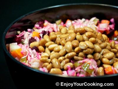 Russian Vinaigrette Salad (Salad Vinegret) Recipe: Step 9
