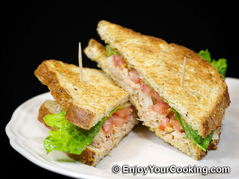 Tuna Salad Sandwich Recipe | My Homemade Food Recipes & Tips ...