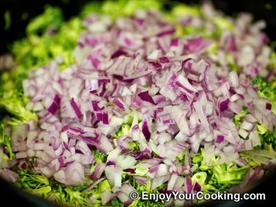 Fresh Broccoli Salad with Raisins and Sunflower Seeds Recipe: Step 4