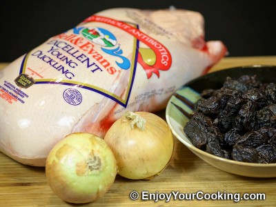 Duck Stew with Prunes Recipe: Step 1