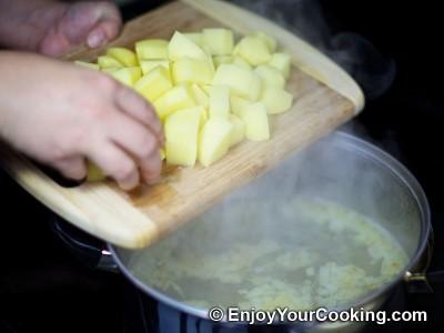 Salmon and Potato Chowder with Cream Recipe: Step 5