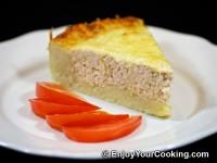 Turkey Pie with Grated Potato
