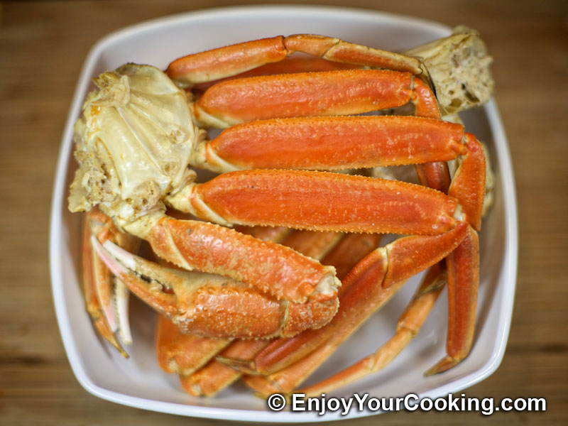 Boiled Snow Crab Legs with Old Bay Seasoning Recipe | My Homemade Food ...
