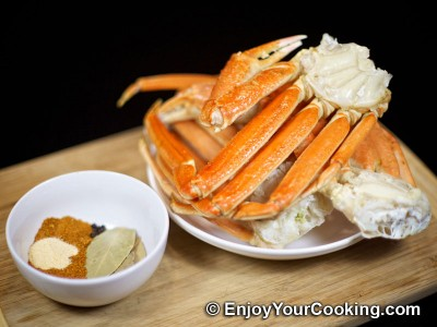 Boiled Snow Crab Legs with Old Bay Seasoning Recipe: Step 1