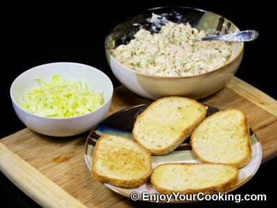 Chicken and Celery Salad Sandwich Recipe: Step 11