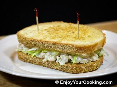 Chicken and Celery Salad Sandwich Recipe: Step 15