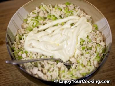 Chicken and Celery Salad Sandwich Recipe: Step 8