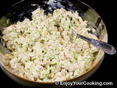 Chicken and Celery Salad Sandwich Recipe: Step 9