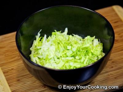 Lettuce, Tomato and Cucumber Salad Recipe: Step 2